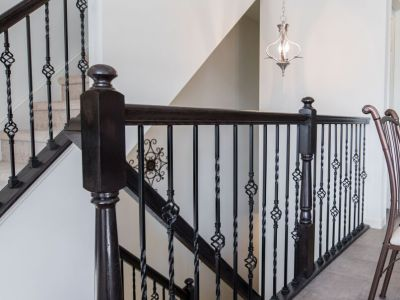 Foyer with staircase  I  New Homes in Montgomery County, PA